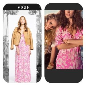 AS SEEN IN VOGUE Juicy Couture maxi dress